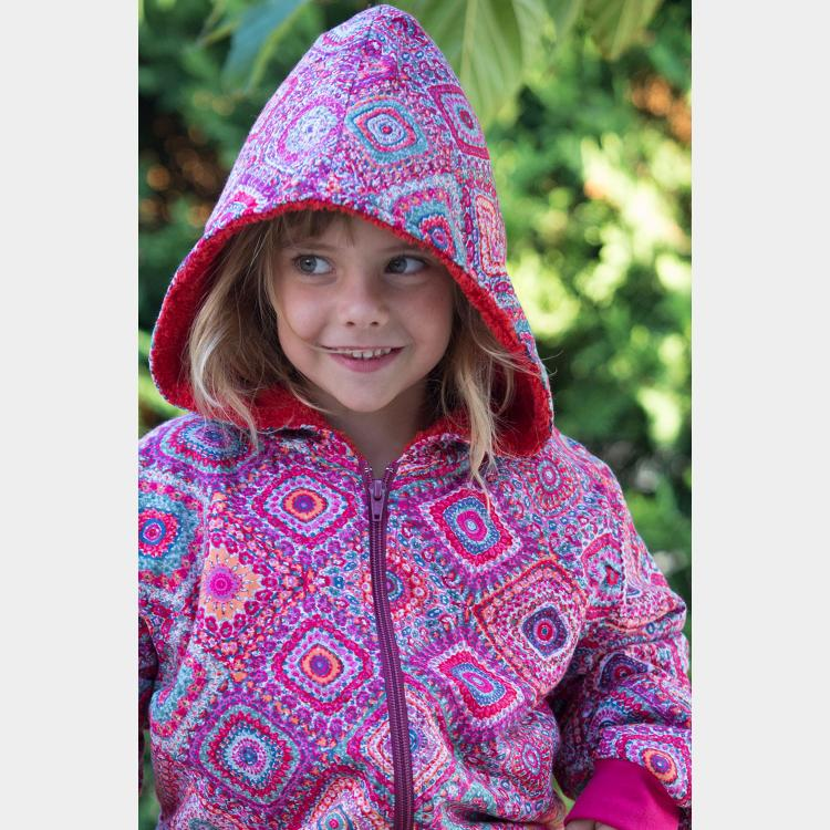 CHAQUETA CANDY KIDDY ROSA